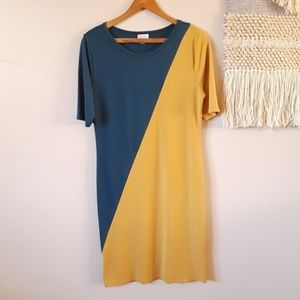 LuLaRoe | Julia Dress – Color Block Unicorn